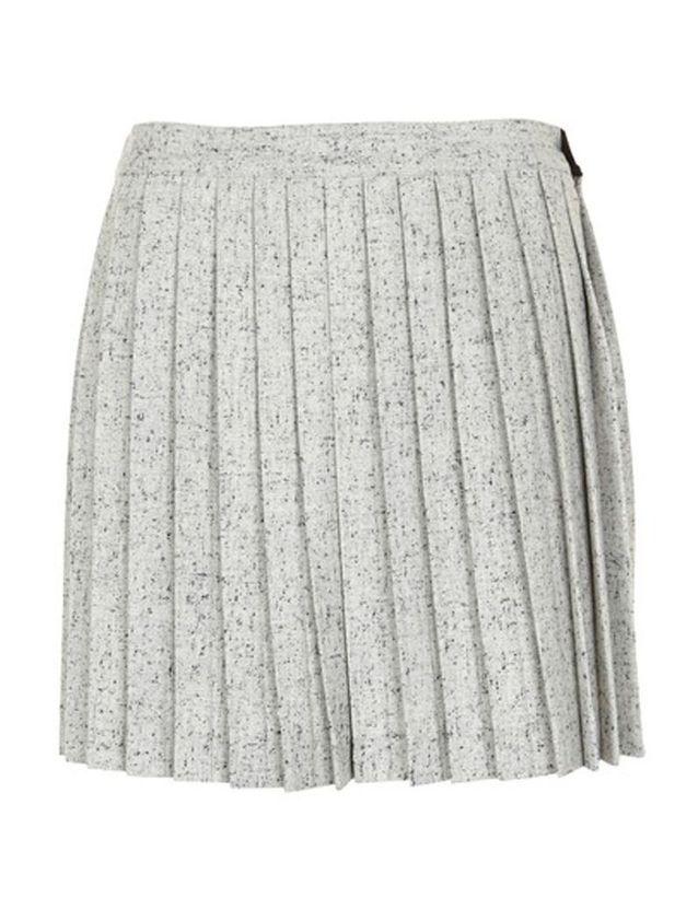 Jupe plissée grise Gat Rimon