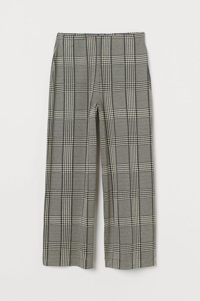 Jupe-culotte à carreaux H&M