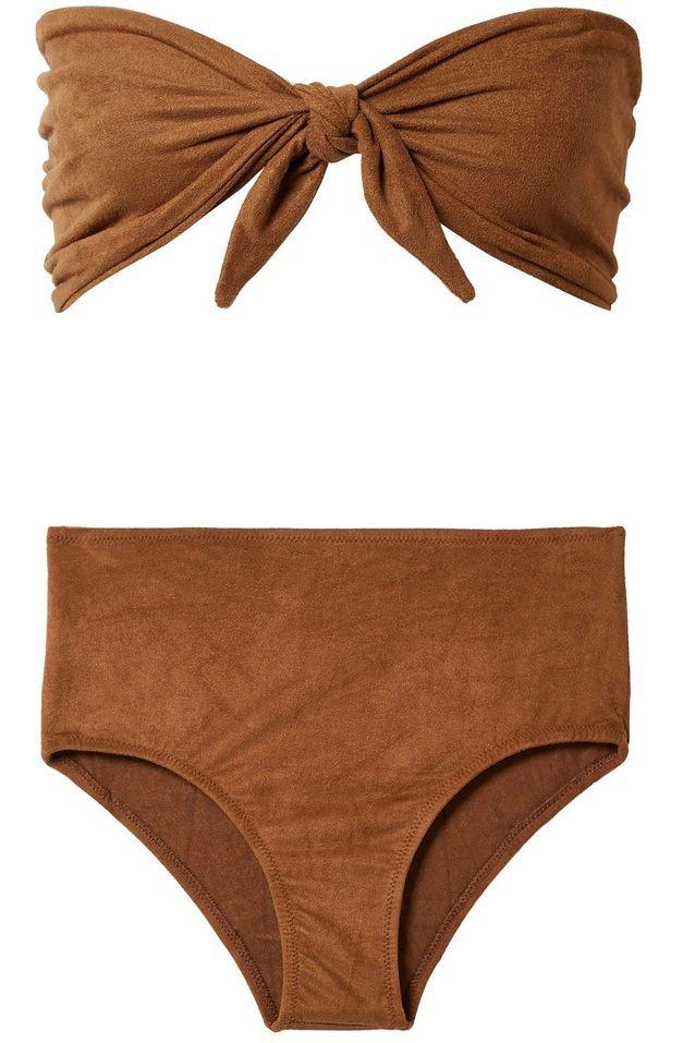 Maillot de bain deux pièces Miguelina Bikini sur The Outnet