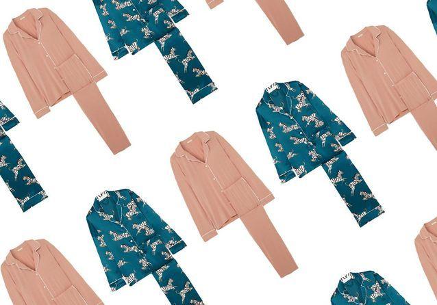 20 pyjamas pour flâner chez soi