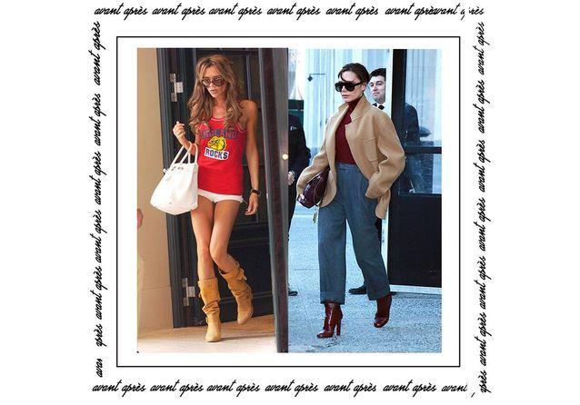 Avant / après : Victoria Beckham, son évolution mode