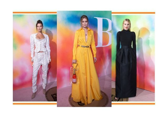 Bella et Gigi Hadid, Lily Aldridge, Karolina Kurkova : les plus beaux looks de la soirée Business of Fashion