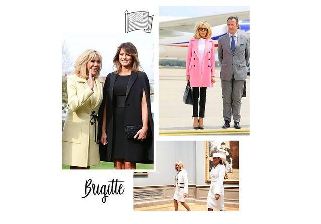 Brigitte Macron aux Etats-Unis : ses plus jolis looks