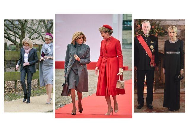 Brigitte Macron en Belgique : Ses plus beaux looks