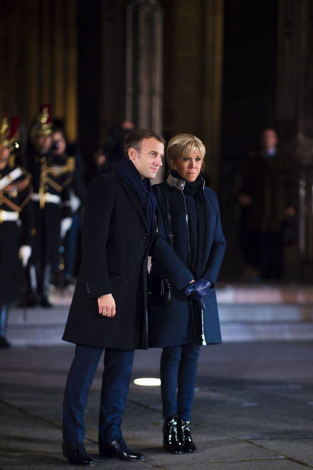 Looks accordés pour le couple présidentiel