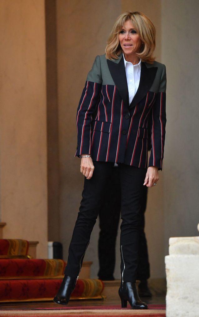 3b4960f408ec Brigitte Macron   ses 50 plus beaux looks de 2018 - Elle