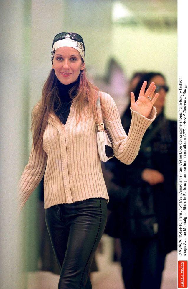 Céline Dion en 2000
