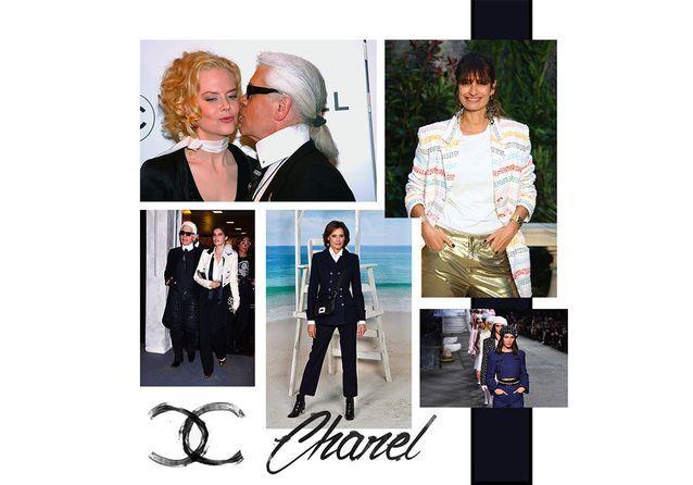 Chanel : les mannequins stars de Karl Lagerfeld