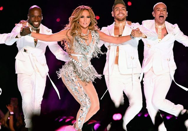 Jennifer Lopez : ses plus beaux looks du Superbowl 2020