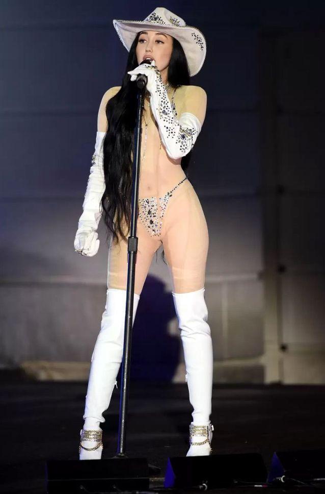 Noah Cyrus au CMT Awards