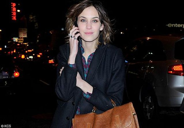 On copie le look d'Alexa Chung