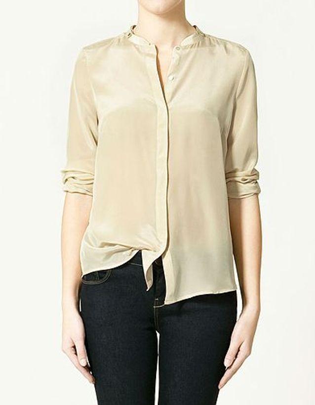 Mode people look shopping tendance katie holmes chemise zara