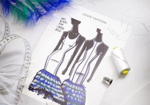 Emmy Awards 2021 : Les secrets de fabrication de la robe Louis Vuitton de Cynthia Erivo