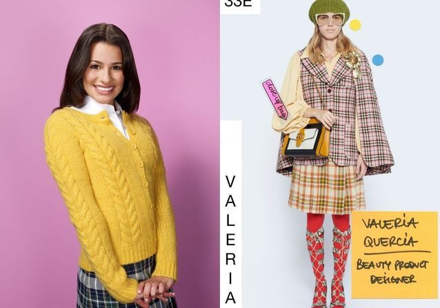 Rachel Berry en Gucci