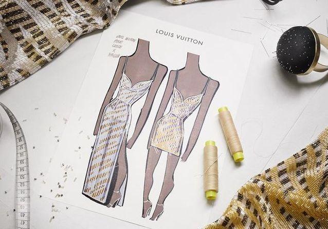 Grammy Awards : les robes Louis Vuitton du duo Chloé x Halle ont nécessité 300 heures de travail