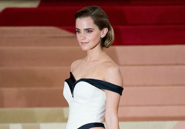 Histoire d'une tenue : la robe recyclée d'Emma Watson au Met Gala 2016
