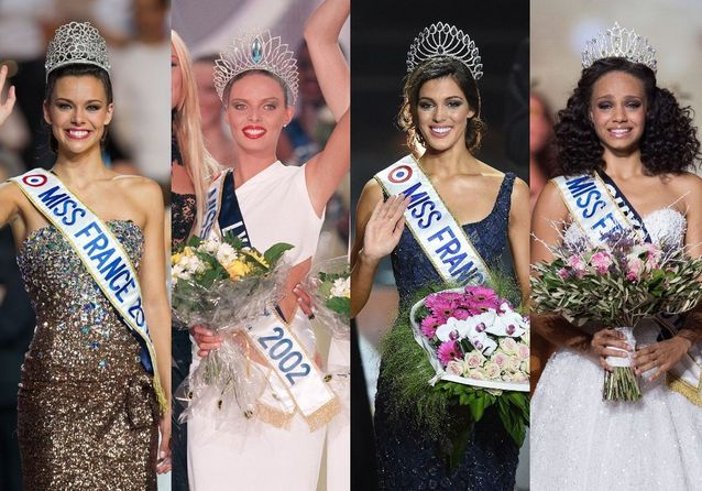 Les plus belles robes des Miss France
