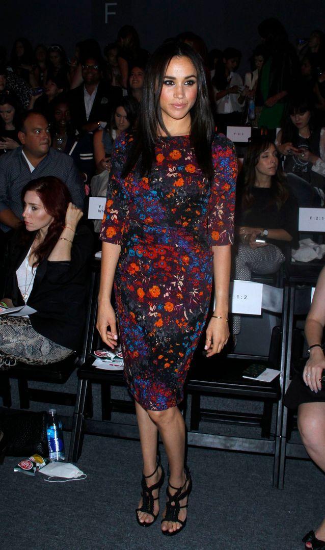 Meghan Markle en robe à fleurs