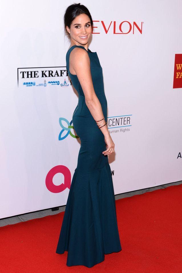 Meghan Markle en robe de gala