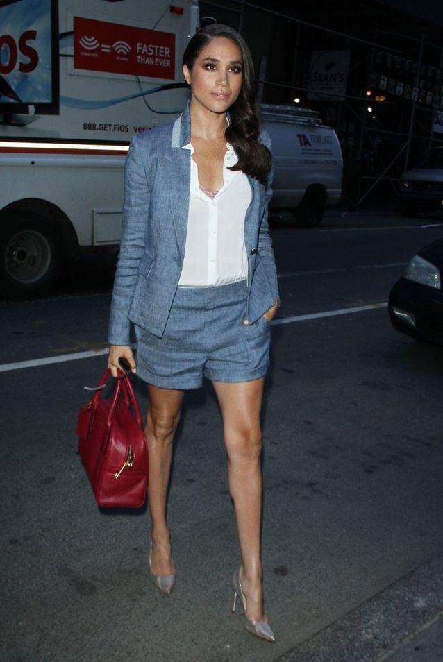 Meghan Markle en robe tailleur short - Meghan