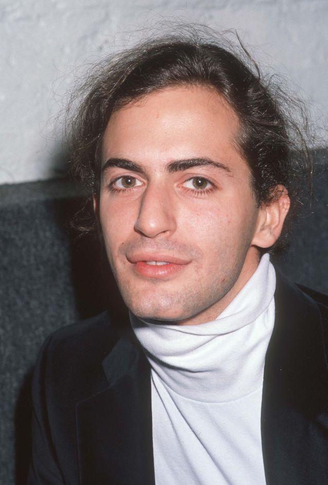 Marc Jacobs en col roulé blanc en 1989