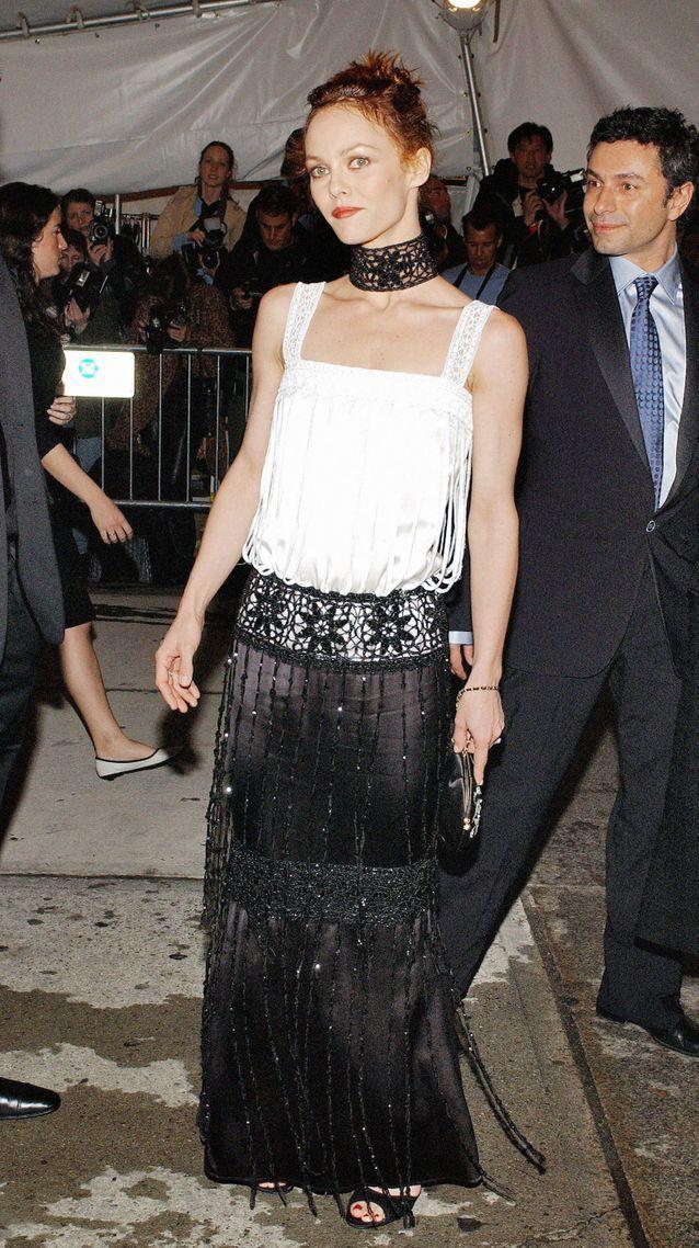 Vanessa Paradis au MET Gala en 2005