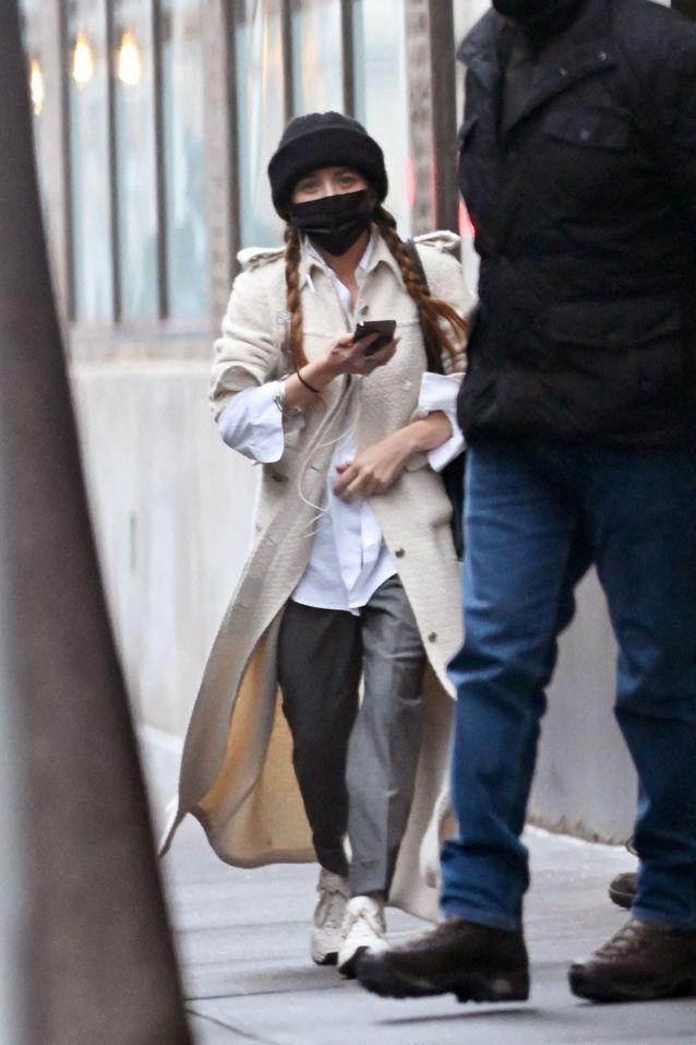 Look hivernal de Mary-Kate Olsen
