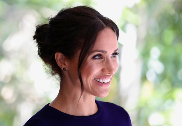 La duchesse de Sussex radieuse