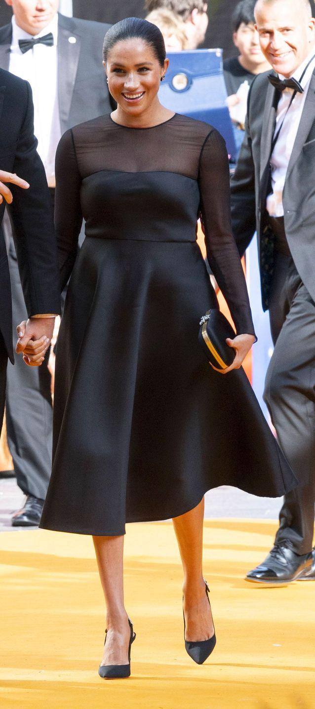 La petite robe noire de Meghan Markle