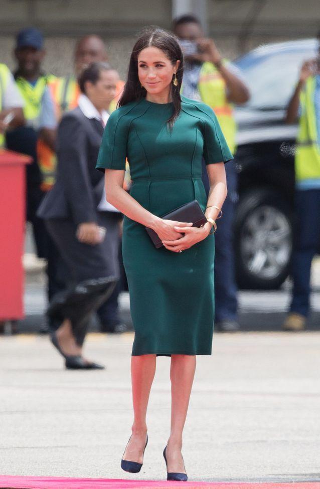 La robe vert forêt de Meghan Markle