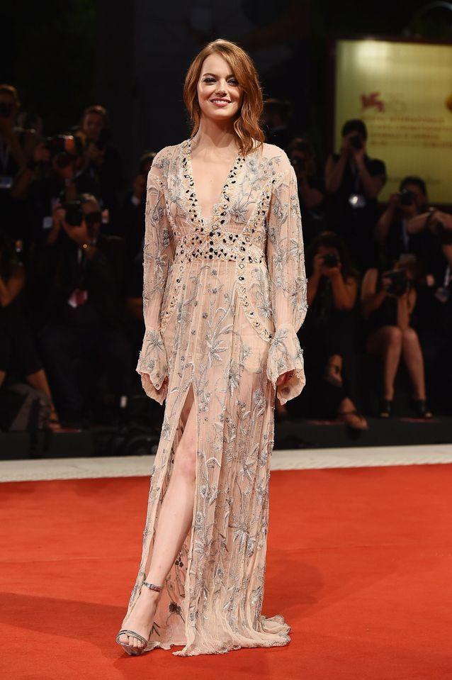 Emma Stone sur le tapis rouge