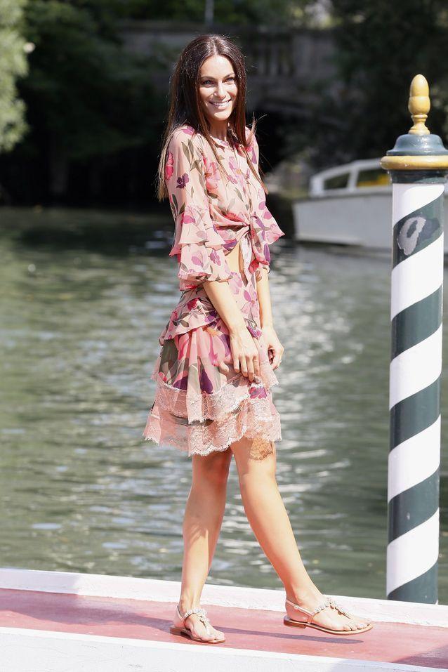 Paola Turani à la Mostra de Venise