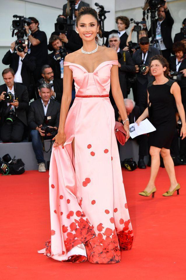 Patricia Contreras sur le tapis rouge