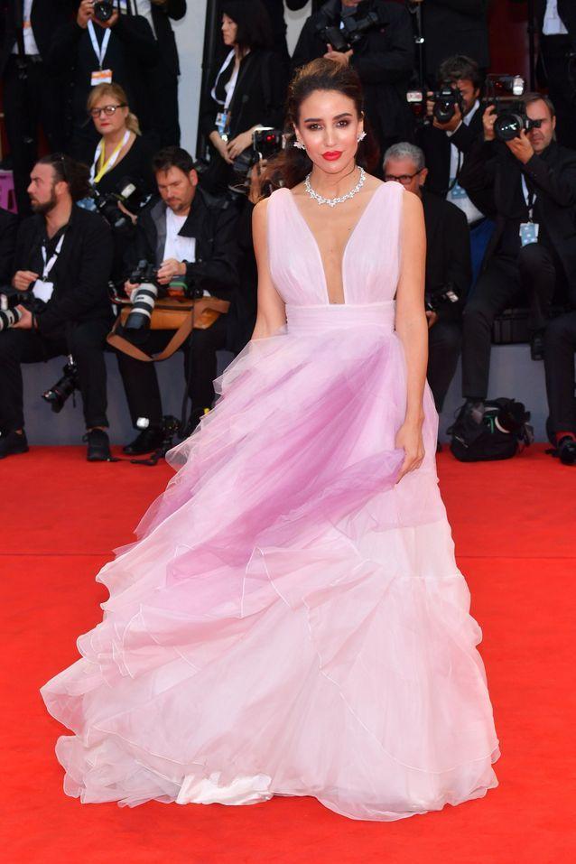 Tamara Kalini sur le tapis rouge