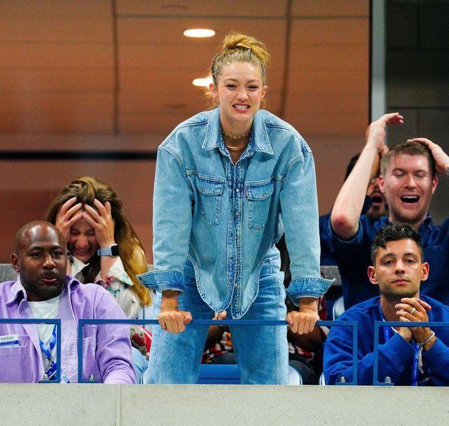 Gigi Hadid à l'US Open 2019