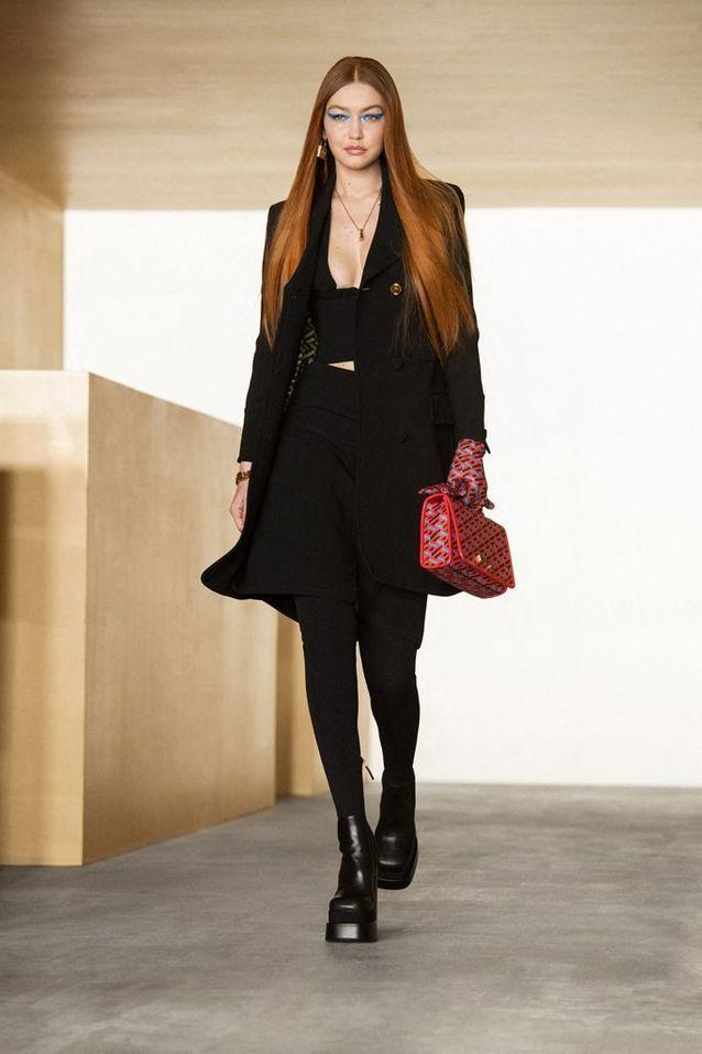 Gigi Hadid de retour à la Fashion Week
