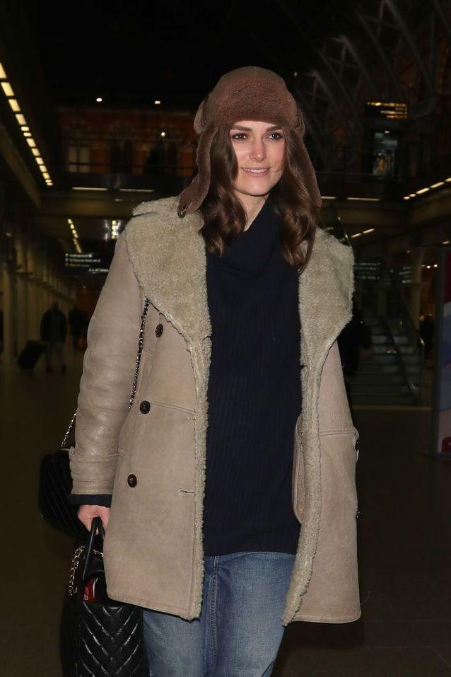 Keira Knightley le 10 janvier 2019 à Londres