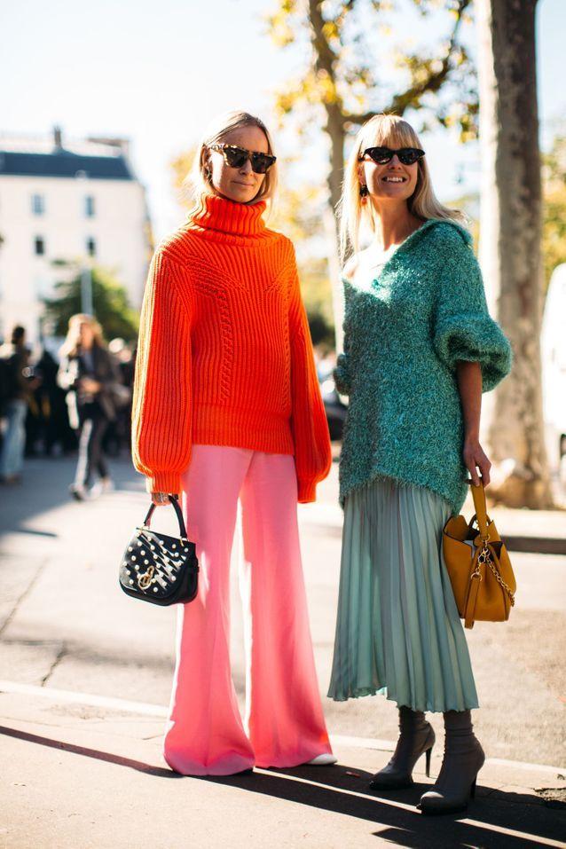 Bannir les looks multicolores