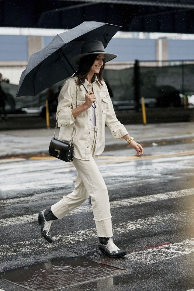 Ne jamais porter de blanc en hiver