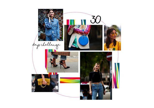 30 days style challenge : 30 astuces pour devenir hyper lookée