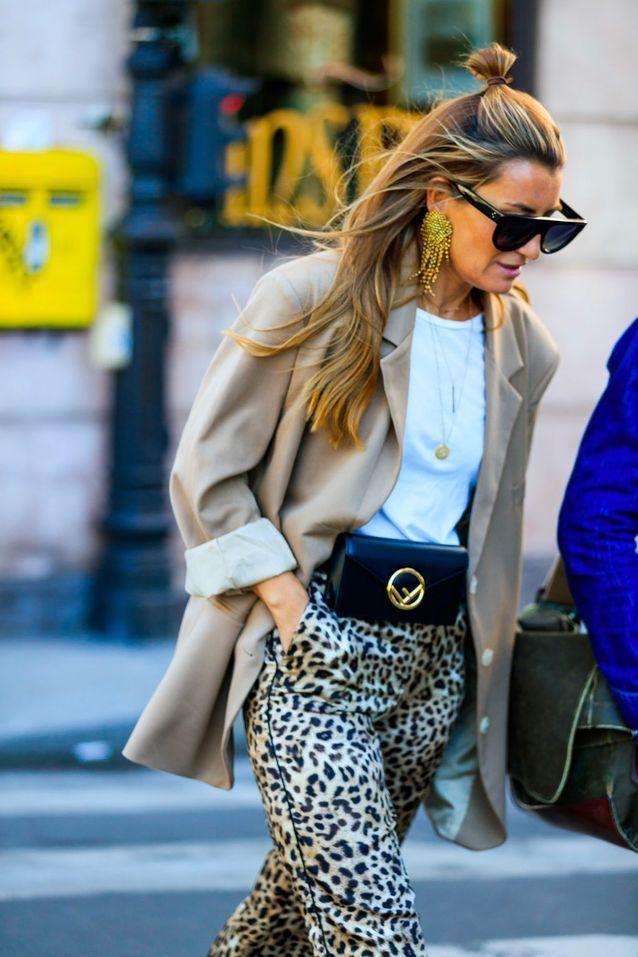 Que porter avec un pantalon léopard ?