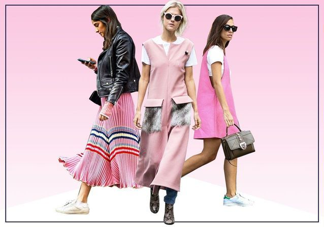 Comment porter une robe rose : 20 looks qui nous inspirent