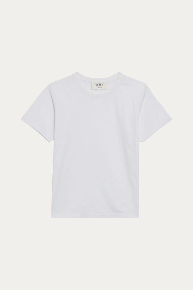 Le tee-shirt blanc