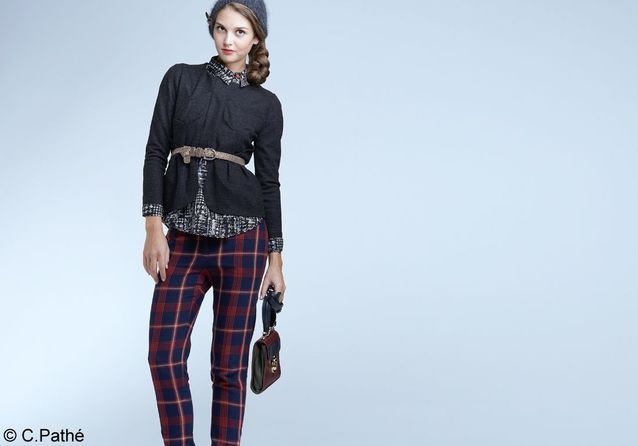 3 façons de porter le pantalon tartan