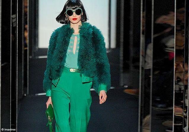 Comment porter le vert cet hiver ?
