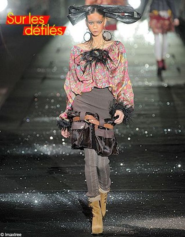 Mode tendance conseils look imprimes fleurs Galliano
