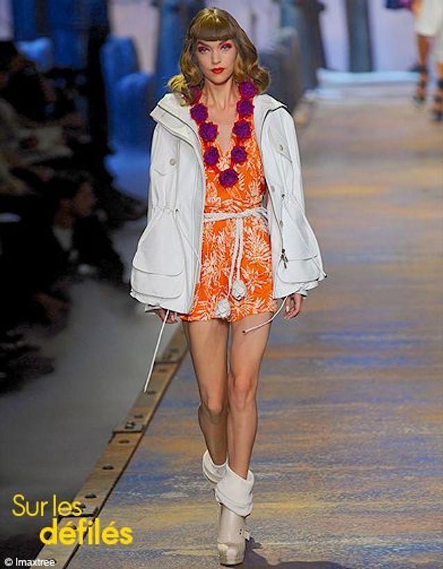 Mode conseils shopping look tendance orange Dior