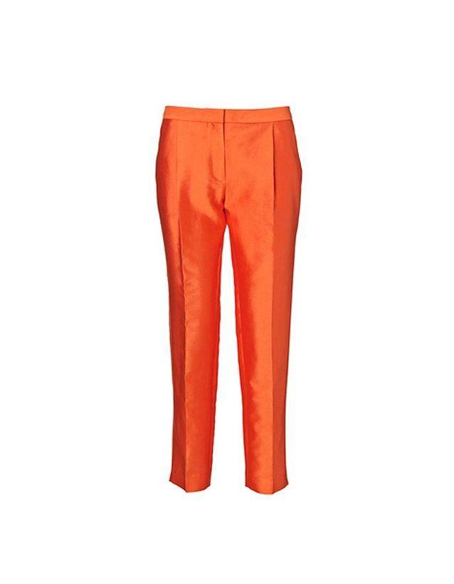 Pantalon carotte orangé By Malene Birger