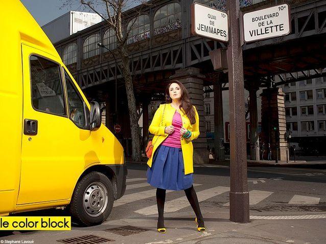 Mode guide shopping conseils tendnaces rondes color block generique