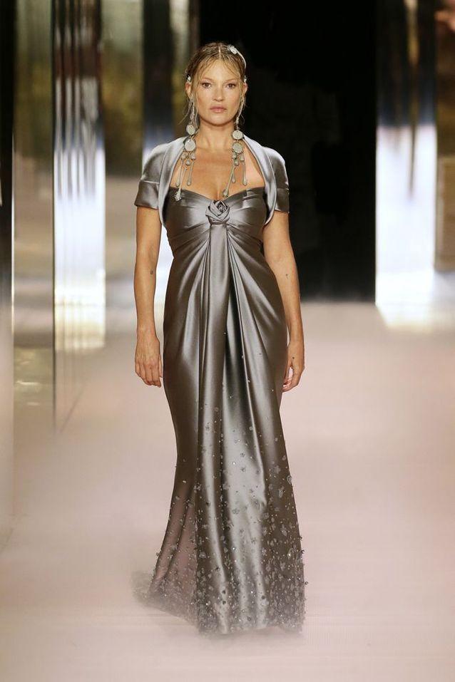 Kate Moss pour Fendi Haute Couture printemps-été 2021